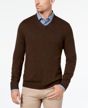 Alfani Men's V-Neck Sweater,...