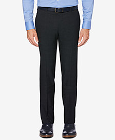 Perry Ellis Portfolio Men's Slim-Fit Performance Stretch Glen Plaid Dress Pants