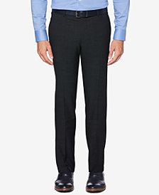 Perry Ellis Portfolio Men's Slim-Fit Performance Stretch Glen Plaid Dress Pants