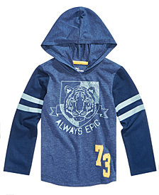 Epic Threads Toddler Boys Hooded Graphic-Print T-Shirt, Created for Macy's