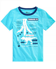 Epic Threads Little Boys Dinosaur-Print T-Shirt, Created for Macy's