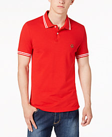 Love Moschino Men's Slim-Fit Red Polo