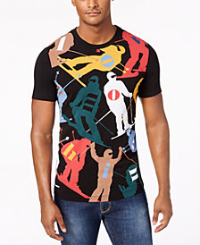 Love Moschino Men's Slim-Fit Ski Print T-Shirt