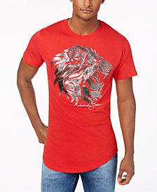 Sean John Men's Regal Lion Graphic T-Shirt