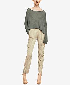 BCBGMAXAZRIA Paperbag-Waist Cargo Pants