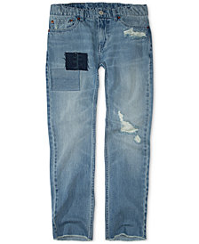 Levi's® Big Boys 511™ Slim-Fit Warp Stretch Patches Jeans