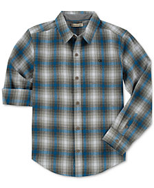 Calvin Klein Big Boys Synergy Check-Print Shirt