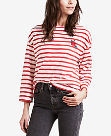 Levi's® Embroidered Striped Sailor T-Shirt