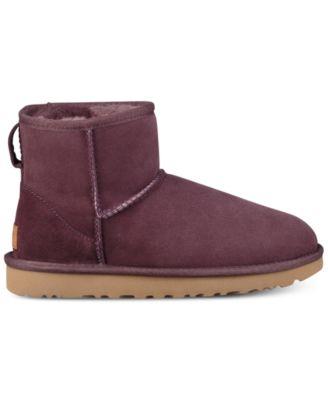 ugg women s classic ii genuine shearling lined mini boots boots rh macys com