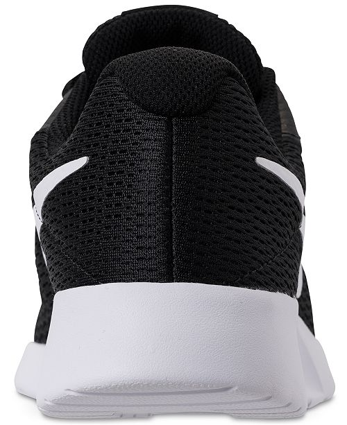 a5aee5bbe96 Nike Women's Tanjun Wide Width (2E) Casual Sneakers from Finish Line ...