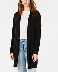 Free People Phantom Long Open-Front Cardigan