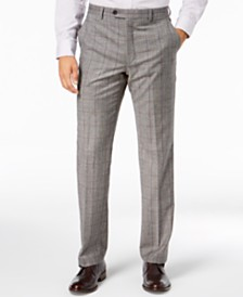 Lauren Ralph Lauren Men's Classic-Fit UltraFlex Stretch Black/White Windowpane Suit Pants