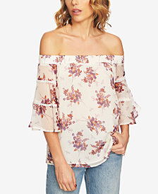 1.STATE Off-The-Shoulder Top