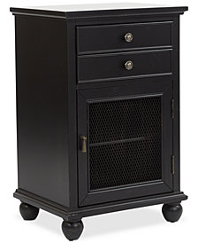 Zeelan Storage Cabinet, Quick Ship