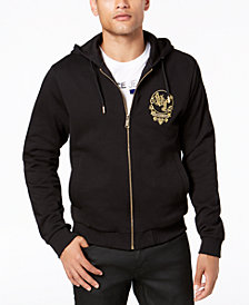 Versace Jeans Men's Full-Zip Hooded Sweatshirt