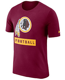 Nike Men's Washington Redskins Legend Football Equipment T-Shirt