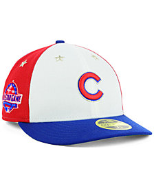New Era Chicago Cubs All Star Game Patch Low Profile 59FIFTY Fitted Cap 2018