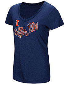 Colosseum Women's Illinois Fighting Illini Big Sweet Dollars T-Shirt
