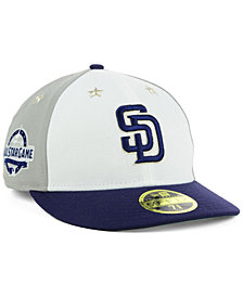 New Era San Diego Padres All Star Game Patch Low Profile 59FIFTY Fitted Cap 2018