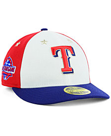 New Era Texas Rangers All Star Game Patch Low Profile 59FIFTY Fitted Cap 2018