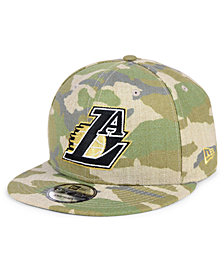 New Era Los Angeles Lakers Combo Camo 9FIFTY Snapback Cap