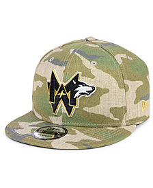 New Era Minnesota Timberwolves Combo Camo 9FIFTY Snapback Cap