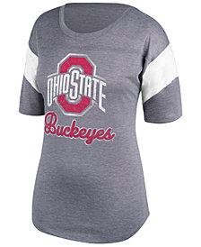 J America Women's Ohio State Buckeyes Field Goal T-Shirt