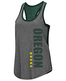 Colosseum Women's Oregon Ducks Share It Racerback Tank