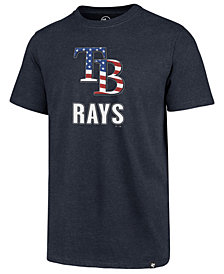 '47 Brand Men's Tampa Bay Rays Spangled Banner Club T-Shirt