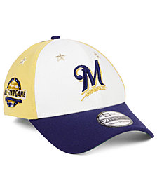 New Era Milwaukee Brewers All Star Game 39THIRTY Stretch Fitted Cap 2018
