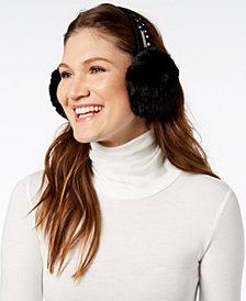 MICHAEL Michael Kors Studded Faux-Fur Earmuffs