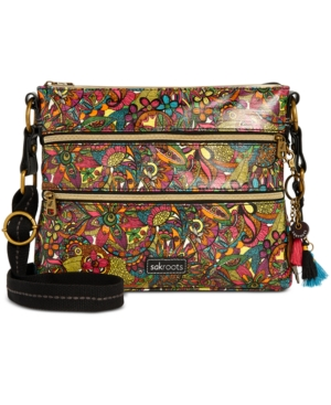 Image of Sakroots Coated Canvas Crossbody