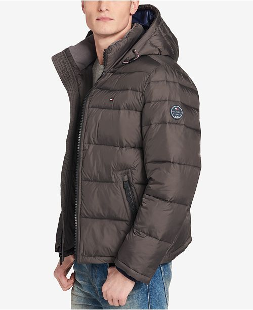 Tommy Hilfiger Mens Quilted Puffer Jacket Created For Macys