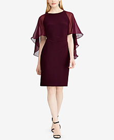 Lauren Ralph Lauren Cape Dress