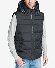 Tommy Hilfiger Men's Hooded Puffer Vest, Created for Macy's