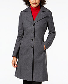 Tommy Hilfiger Petite Single-Breasted Coat