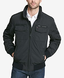 Men's Four-Pocket Unfilled Performance Bomber Jacket