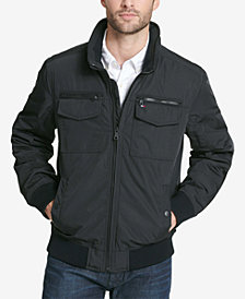Tommy Hilfiger Men's Four-Pocket Filled Performance Bomber Jacket