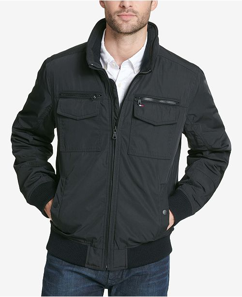 9cf6d0e94d8 Tommy Hilfiger Men s Four-Pocket Performance Jacket - Coats ...