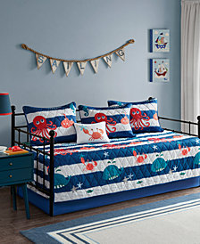 Mi Zone Kids Sealife Reversible 6-Pc. Daybed Set