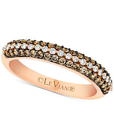 Le Vian Bridal® Diamond Band (1/2 ct. t.w.) in 14k Rose Gold