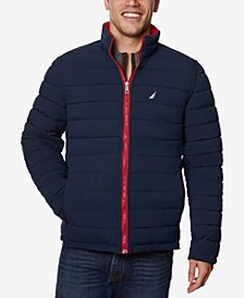 Men's Quilted Stretch Reversible Jacket