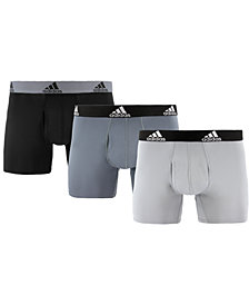 adidas Men's 3-Pk. ClimaLite® Trunks