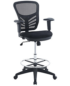 Modway Articulate Drafting Chair
