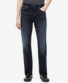 Calvin Klein Jeans Men's Big and Tall Relaxed Straight-Fit Jeans