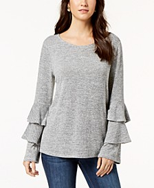 Tiered-Sleeve Top, Created for Macy's