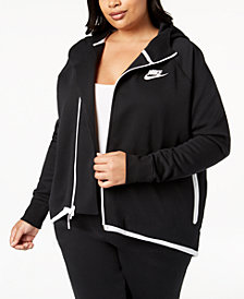 Nike Plus Size Sportswear Tech Fleece Cape Jacket