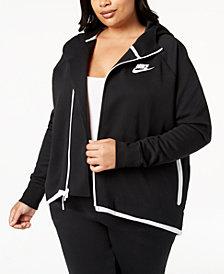 Nike Plus Size Sportswear Tech Fleece Cape Jacket