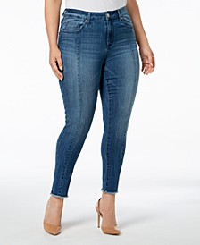 Seven7 Trendy Plus Size Skinny Jeans
