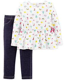 Carter's Baby Girls 2-Pc. Western Sunshine Outfit Set